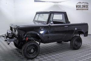1966 International Scout 4X4 Frame Off Restoration Lifted