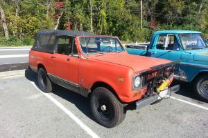 1973 Scout II 304 Barn Find, Original Plow, Softtop, New Tires