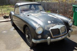 1962  MGA 1600 MK II 2  has not been used since 1999, sale by original owner