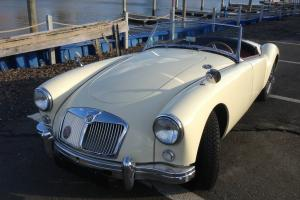 Sweet 1956 MGA Driver for sale, video drive! Cool Summer Fun!