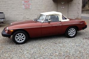 1976 MGB Roadster GREAT CONDITION, STUNNING COLOR COMBINATION!