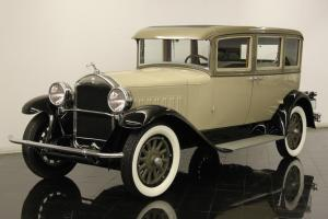 1928 Pierce Arrow Model 81 Sedan Fully Documented Restoration Rare AACA Winner