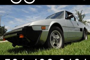 null Bertone Torino X-1/9 LOW MILES & RUST FREE