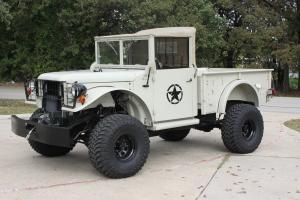 1951 Dodge Power Wagon M37 Modern 4x4 Chassis 5.9 FI, O/D Auto, All Pwr,  A/C
