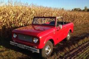 SHOW QUALITY FRAME OFF RESTORED 61 INTERNATIONAL SCOUT