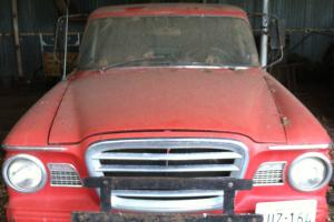 Vintage Studebaker pickup is 98% original. Gently driven by my father. Photo
