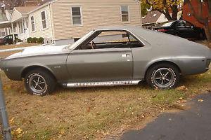 1970 AMC AMX Sonic Silver Easy Restoration To Finish