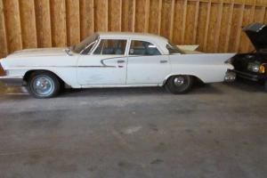 1961 CHRYSLER BARN FIND, VERY SOLID CAR, MANUAL TRANSMISSION FROM THE FACTORY