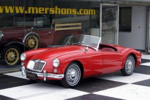 1960 RED/RED MGA ROADSTER!