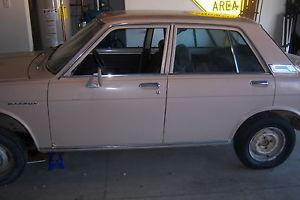 1971 Datsun 510 4 Door -- No reserve