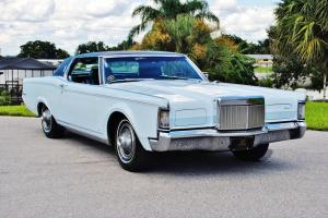 pristine low mileage 1969 Lincoln Mark 32,078 miles one of the best to be found