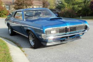 1969 Mercury Cougar Eliminator  rare 1 of 106 blue