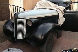 1938 Buick special  opera coupe rare rat rod hot rod custom chop top
