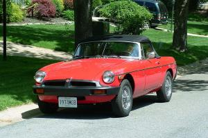 1974 MGB Totally restored.  New condition   One owner.