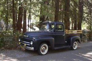 '52 hot rod rat street International pickup truck