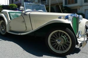 1949 MG TC EXCELLENT ORIG CA DRIVER