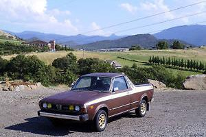 1979 Subaru Brat DL Standard Cab Pickup 2-Door 1.6L