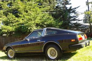1981 Nissan 280ZX Coupe 2-Door 2.8L T-Tops, 5 Speed Manual