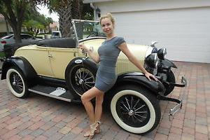 null 1980 SHADY MODEL A FORD 6 WHELL ROLLS Photo