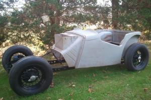 MGTC/MG TC special, vintage race car,