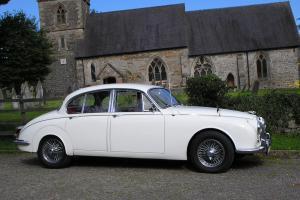 CLASSIC 1969 JAGUAR 240 MK 11 OVERDRIVE LEATHER, IDEAL WEDDING CAR MOT