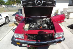 1984 European Import Mercedes-Benz Convertible, Low Miles only 71K Miles