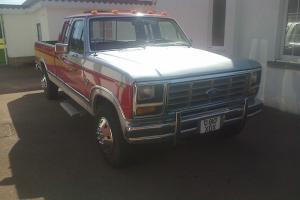 1986 Ford F250 XLT Pick up Lariat extended Cab Deluxe 6.9 Litre Lincoln Diesel