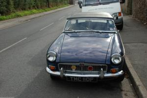mgb roadster 1968 (chrome bumper model)