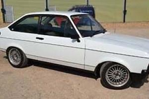 Ford Escort Mk2 with 2L Pinto