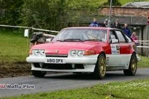 GrpA ROVER SD1 Rally Car, Genuine Solid Roof Shell, Everything