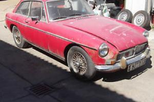 1967 MGB GT for restoration