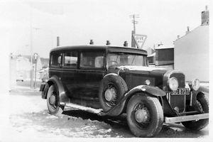 1930 BUICK LIMOUSINE RHD