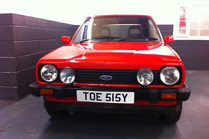 1983 FORD FIESTA XR2 RED nut and bolt restoration
