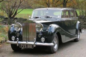 1956 Rolls-Royce Silver Wraith H J Mulliner Touring Limousine ELW79