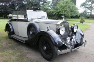 1935 Rolls-Royce 20/25 Tickford Silver Jubilee Cabriolet by Salmons  Photo