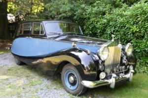 1956 Rolls-Royce Silver Wraith Limousine by Hooper