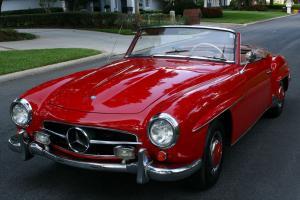 LOVELY DESIREABLE MODEL -1961 Mercedes 190SL Convertible - 66K miles
