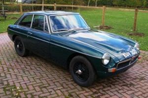 1971 MG BGT Supercharged