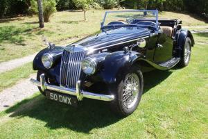 RARE ORIGINAL NUMBERS MATCHING RHD 1955 MG TF 1500