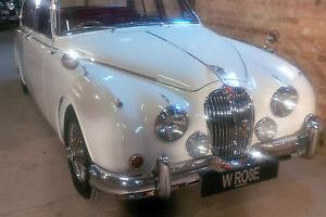1967 JAGUAR MK 2 3.8 MOD - VERY VERY EXPENSIVE TRANSFERABLE NUMBER PLATE - WRO8E