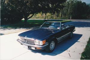 1985 Mercedes Benz 280 SL Convertible EURO