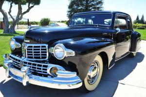 Rare Restored 1947 Lincoln Continental Club Coupe V12/FlatHead 8 California 2 DR