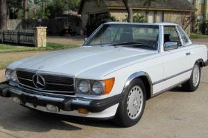 1986 Mercedes Benz 560SL Convertible 83k miles