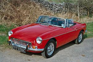 1971 MGB Roadster, An exceptional example.