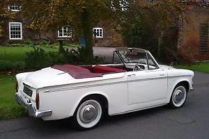 1960 HILLMAN MINX SERIES IIIb CONVERTIBLE IN NICE CONDITION ( RARE EXAMPLE )