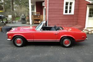 1969 Mercedes 280sl, Exceptional Condition
