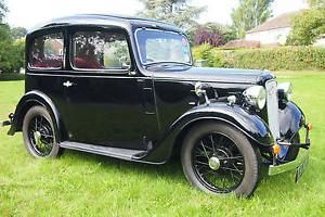 Austin 7 Ruby 1937 - concours