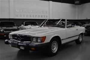 TIME WARP 35000 mile White 380SL with Double Timing Chain