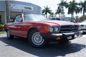 1985 Mercedes-Benz 380SL,ONLY 1 OWNER,FLORIDA CAR!!!