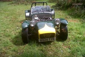 CATERHAM 7 1995 LOTUS 7 COPY FABULOUS BUILD QUALITY FACTORY PRISONER COLOURS